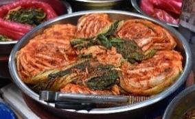 Kimchi at gwangjang market